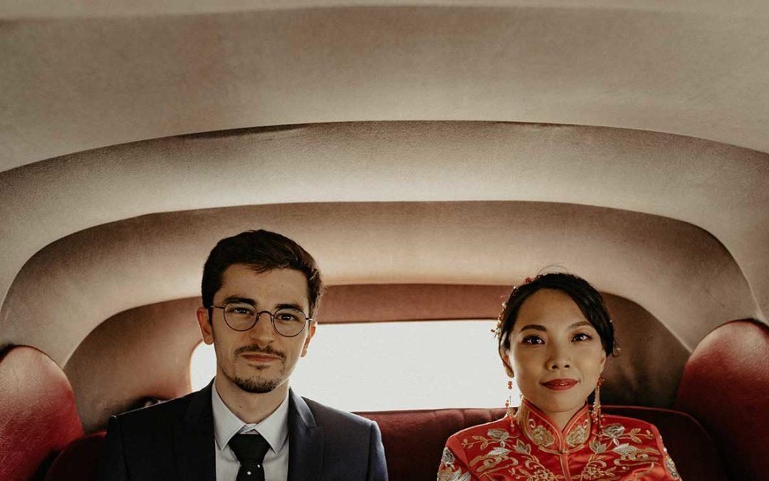 Qiu et Nicolas – Un mariage franco-chinois aux abords de Fontainebleau
