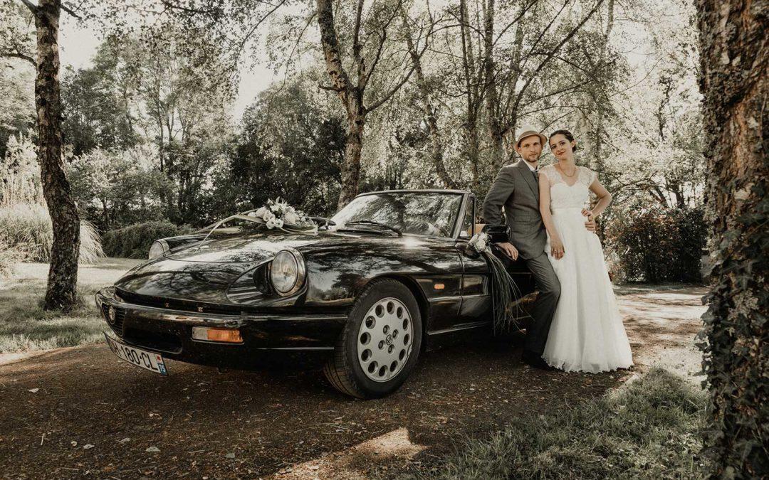 Elsa et Alan – Mariage champêtre en Bourgogne